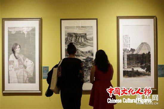 (国际)(3)中国当代美术作品展在墨西哥举行
