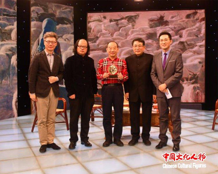 韩玉臣与杨飞云_张晓凌_尚辉等专家学者在央视探讨世界艺术新风向