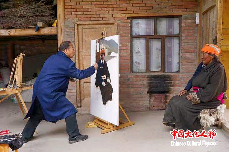 韩玉臣应邀参加国博主办的庆祝新中国成立70周年70人美术作品展